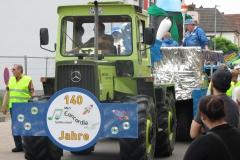Musik-und-Gesangsverein-MGV-Concordia-Schifferstadt-Rettichfestumzug-2016-Themenwagen-Concordia